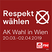 Respekt wählen - AK Wien Wahl 2019