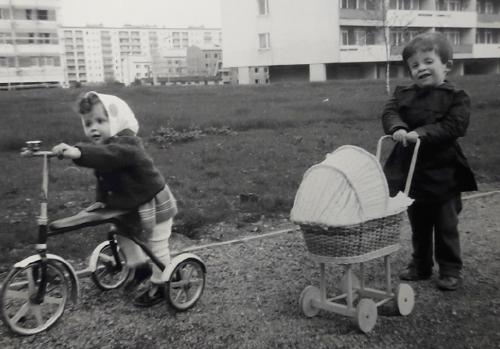 Renate Anderl als Kind